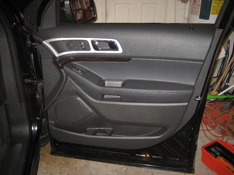 2014 Ford Explorer Suv Front Passenger Interior Door Pan
