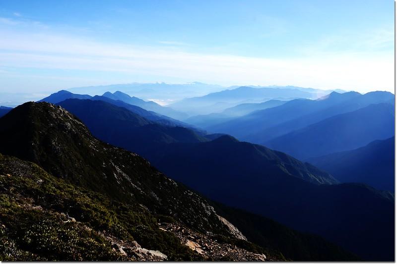 玉山北峰向北展望 3