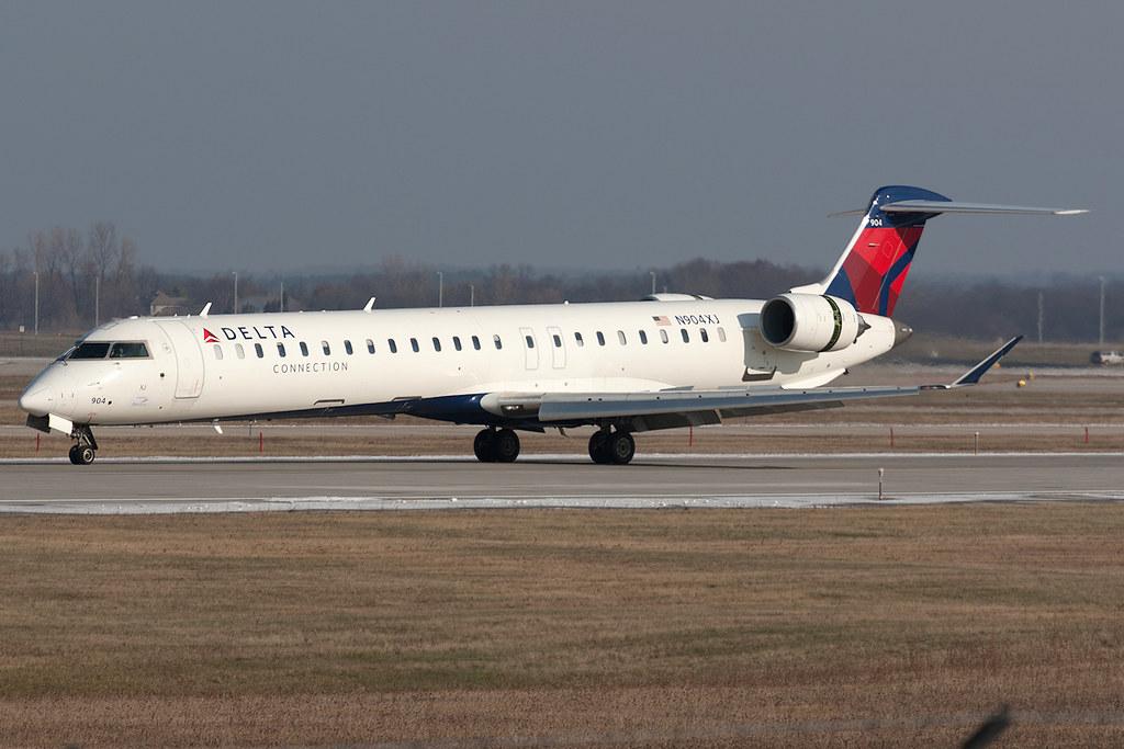 Delta Connection Endeavor Air Bombardier Crj 900 N904xj
