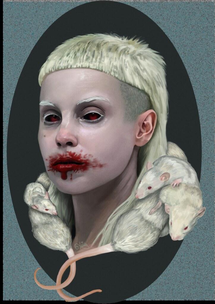 Yolandi Visser | Pretty creepy ;) | Alondra Charlott | Flickr  Yolandi Visser ...
