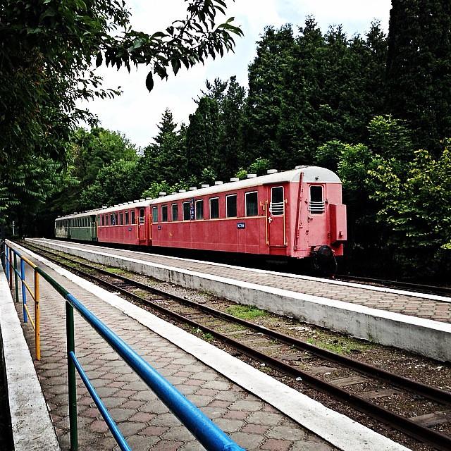 Владикавказ. Детская железная дорога