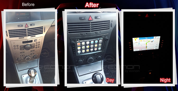 Installation Pictures and Review from our Fan for GA5154 Vauxhall/Opel Android Car DVD