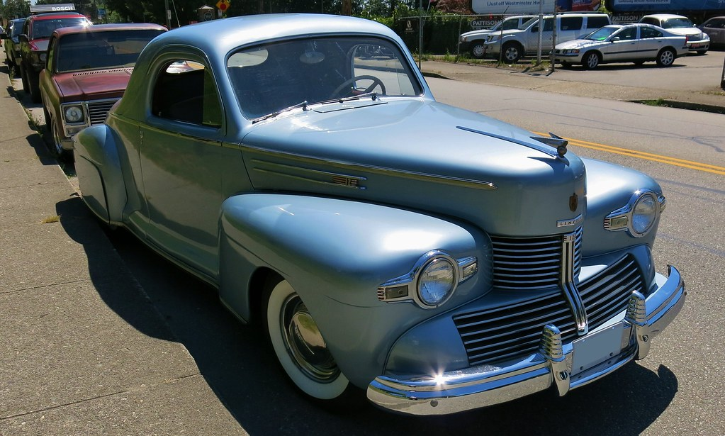 1942 lincoln zephyr v12 3 window coupe custom cab flickr