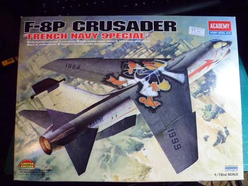 Pas-à-pas : Vought F-8E Crusader [Academy 1/72] 9416664549_36a0e4b063