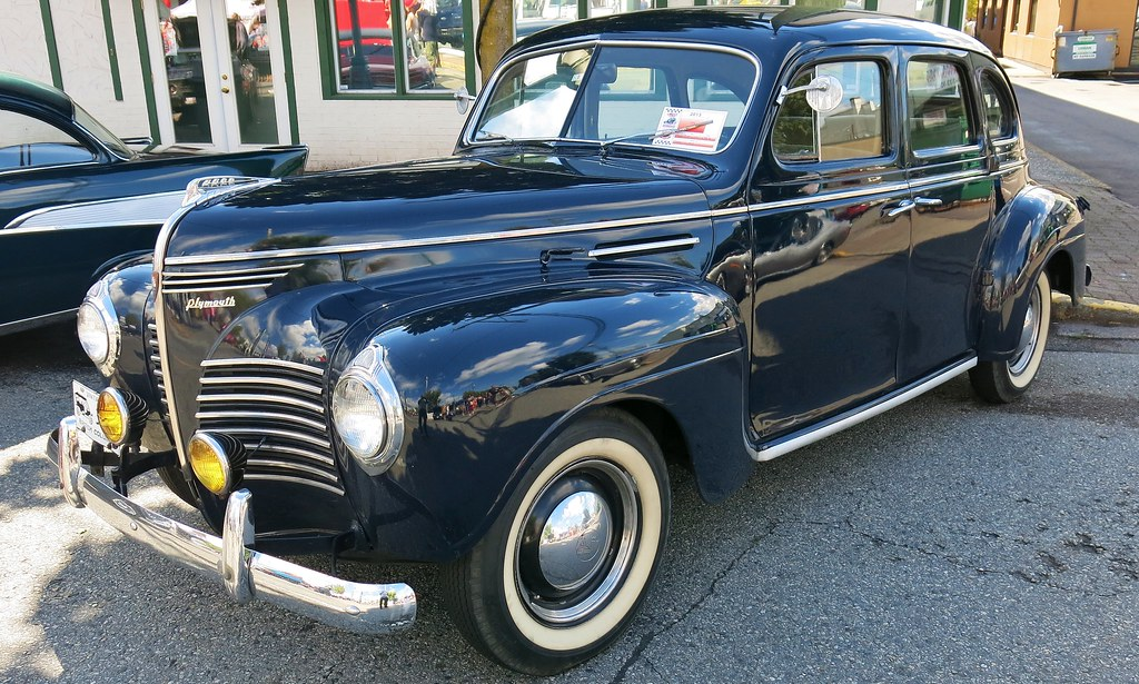 1940 plymouth deluxe 4 door sedan custom cab flickr