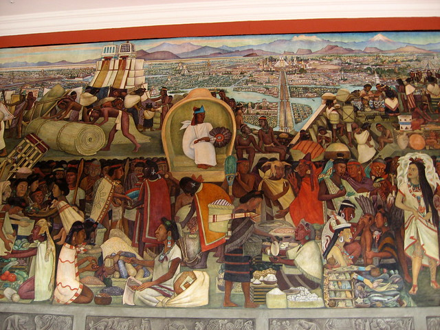 Mural de diego rivera 2 palacio nacional m xico d f for Diego rivera mural palacio nacional