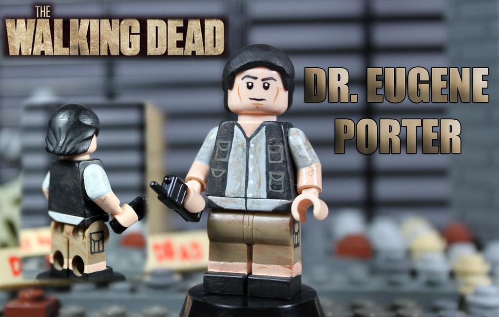 custom lego the walking dead season 4 dr eugene porter. Black Bedroom Furniture Sets. Home Design Ideas
