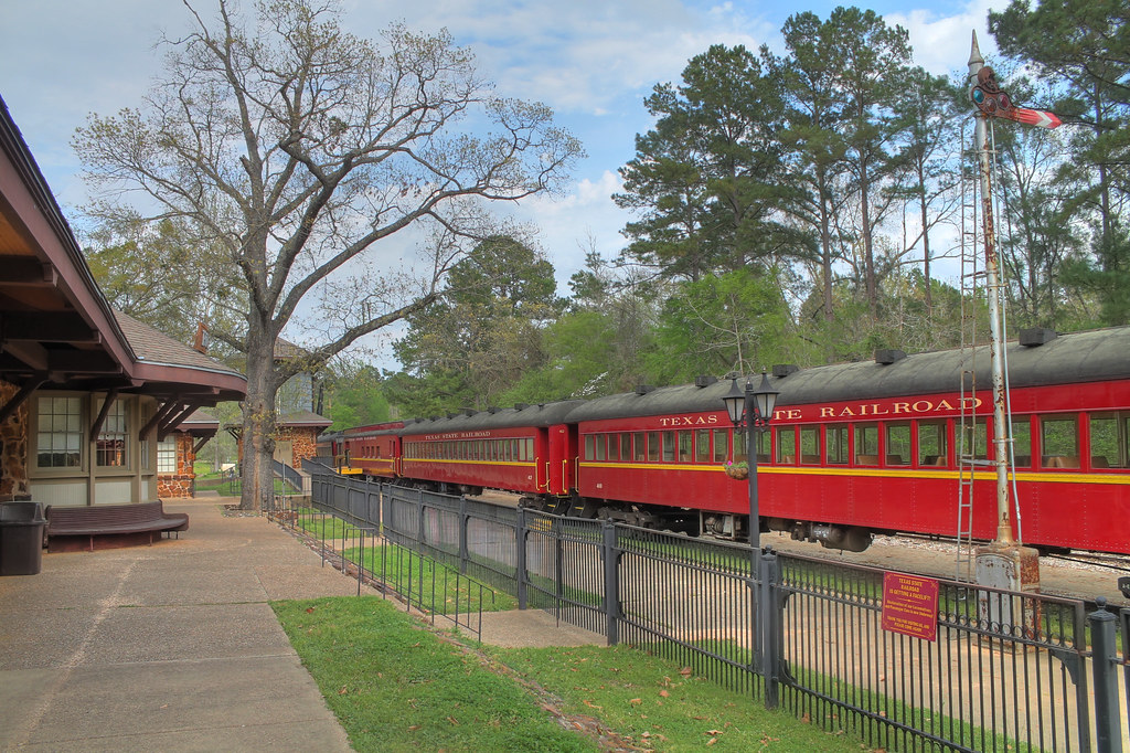 Texas State Railroad, Rusk, Texas   The railway is a park ...