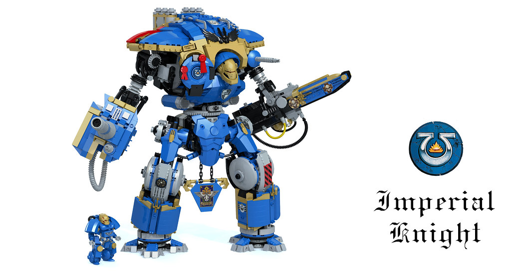 Ultramarines Imperial Knight | I think these 2751 bricks