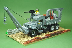 GMC CCKW Maintenance/Recovery Truck (1) by Dunechaser