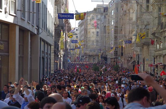 İstiklâl Caddesi, Taksim Square - Gezi Park Protests, İstanbul