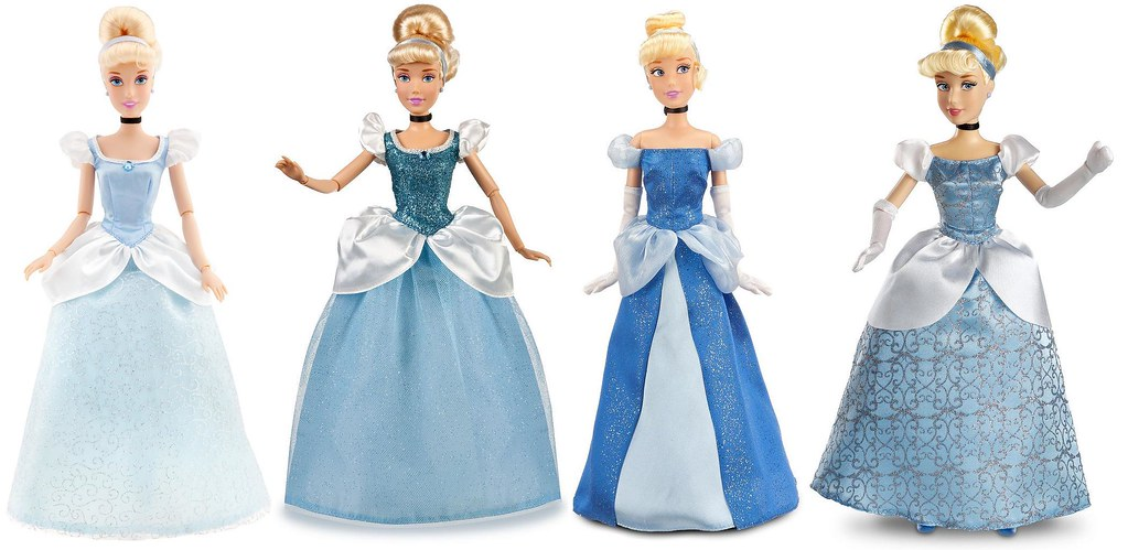 Cinderella Classic 12 Dolls By The Disney Store 2010 2