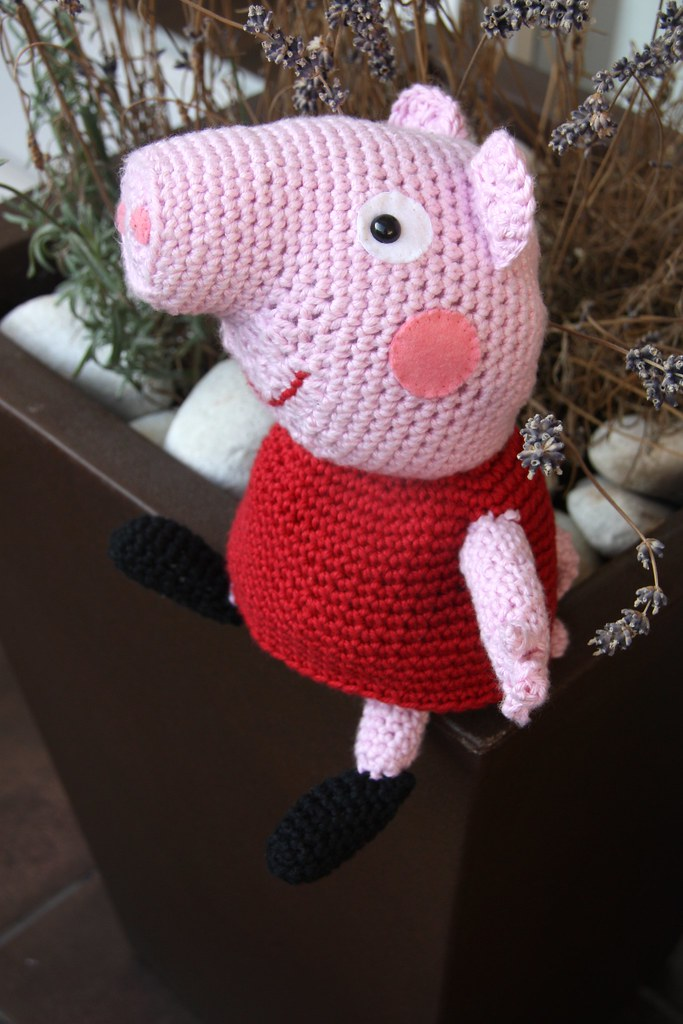 Amigurumi Tutorial Peppa Pig : Amigurumi peppa pig ged anacraftsbcn spot
