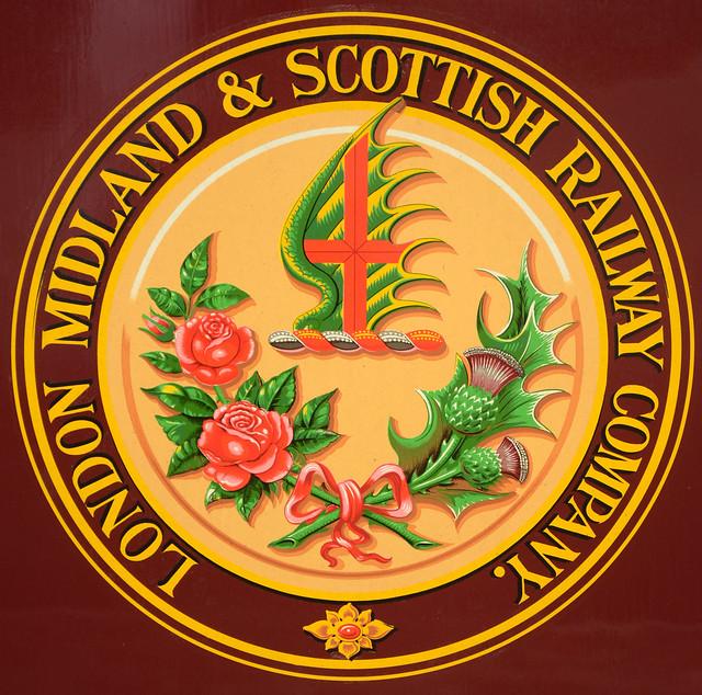 Crest Foods Company Mail: London, Midland & Scottish Railway Company Crest