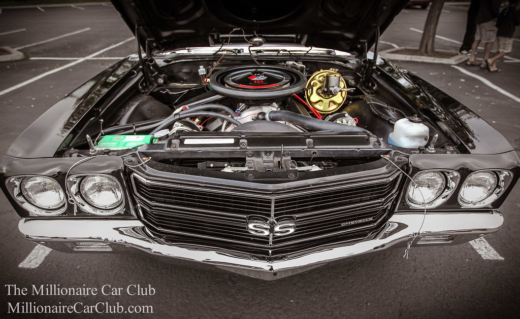 New Chevelle Ss >> 1970 Chevrolet Chevelle SS 454 Big Block under the hood ...