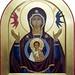 2013 Icône de la Mère du Signe In-Chora / The In-Chora Mother of the Signe Icon (icône communautaire de l'Atelier d'iconographie In-Chora de l'Institut Périchorèse)