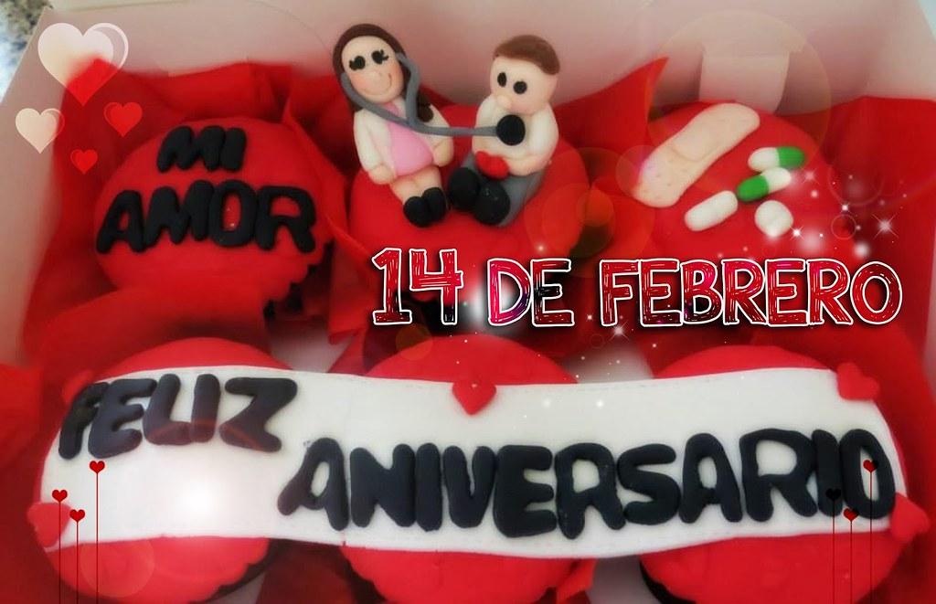 Frases De Amor Para Aniversario: Frases De Amor: Feliz Aniversario 14 De Febrero 2014 Tarje