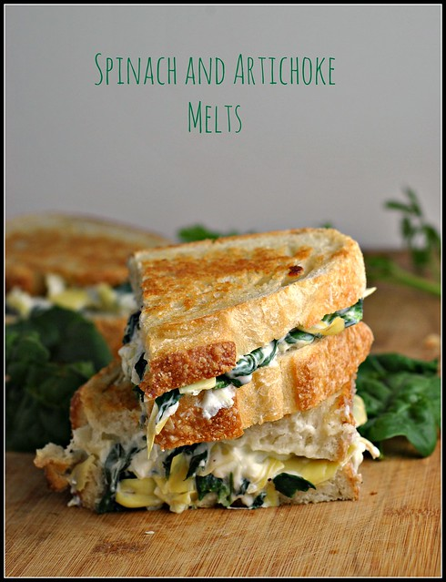 Spinach and Artichoke Melts 4