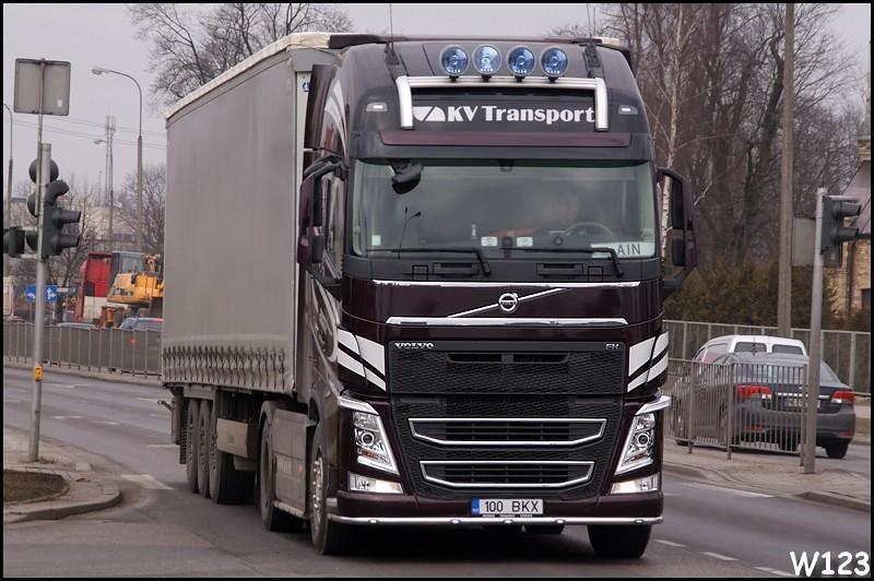 Volvo FH IV Globetrotter XL | KV Transport (EST) | KPDK8 ...