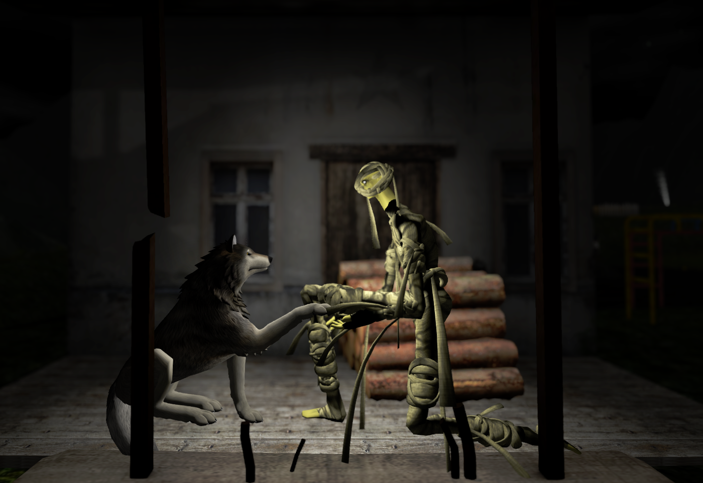 The mummy greets the wolf: diversity in SL
