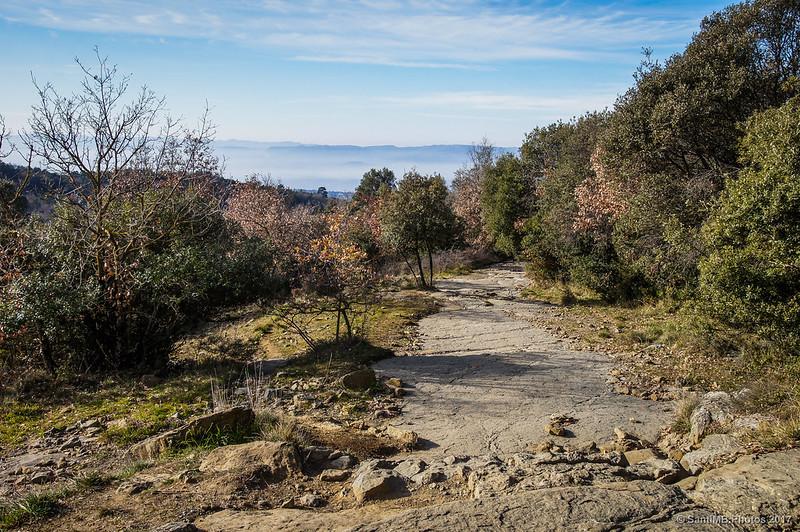 Camino a La Foradada de Cantonigròs