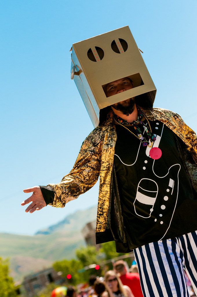 Party Rock Anthem Robot Costume Party Rock Robot   by Sam