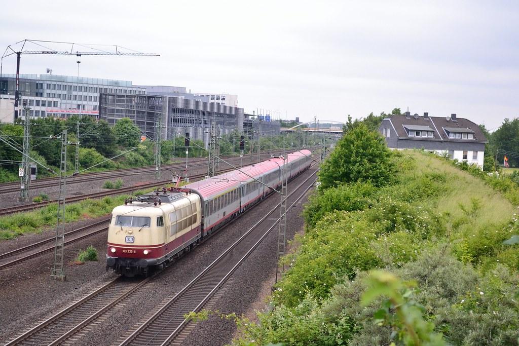 Db 103 235 8 Ic 119 Te Dusseldorf Unterrath Het