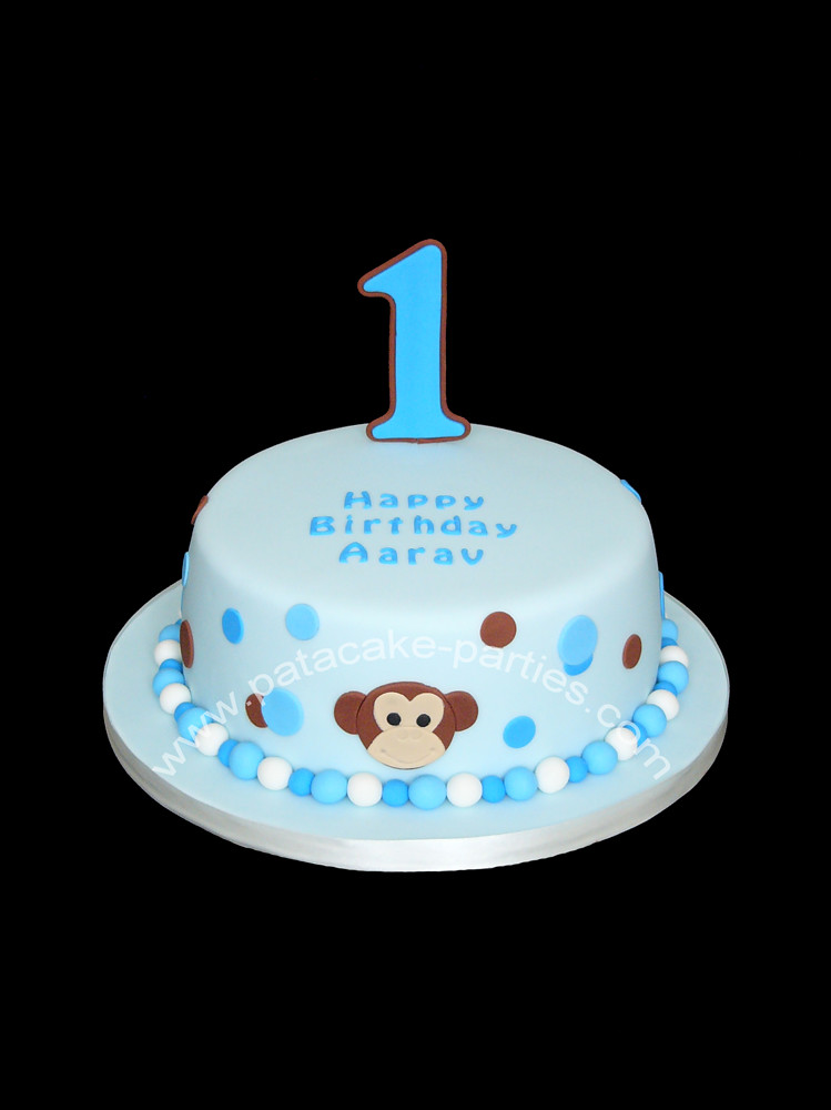 Cute Birthday Cakes For Baby Boy