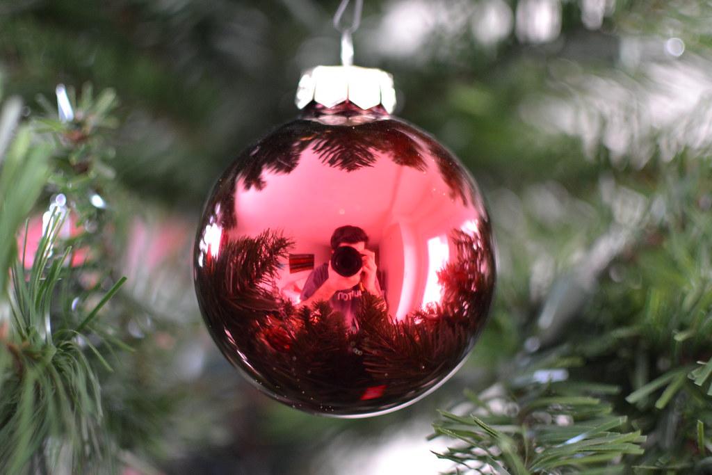 Camera Christmas Tree Ornament