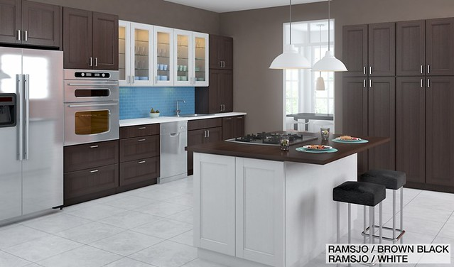 Ramsjo White Kitchen