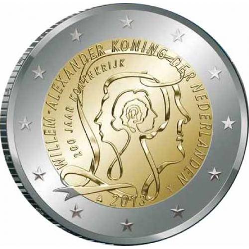 2 Euro Holandsko 2013, 200 rokov kráľovstva
