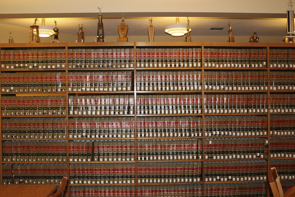 Stacks and Trophies at the Law Library | Photo taken on 26 F ...