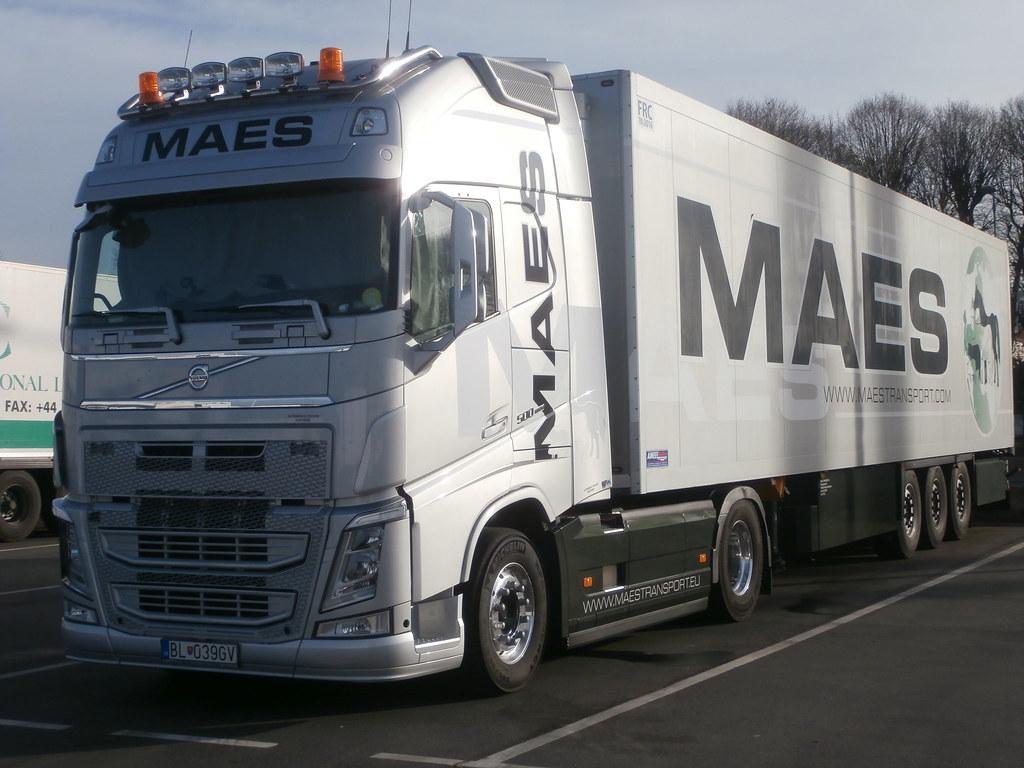 Maes Transport Sk Volvo Fh Iv 500 Globetrotter Xl Rungis