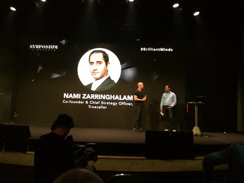 Nami Zarringhalam - Symposium Brilliant Minds conference, Stockholm, June 2015