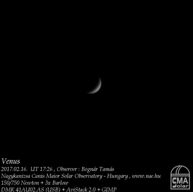VCSE - Vénusz - 2017.02.16 - Bognár Tamás