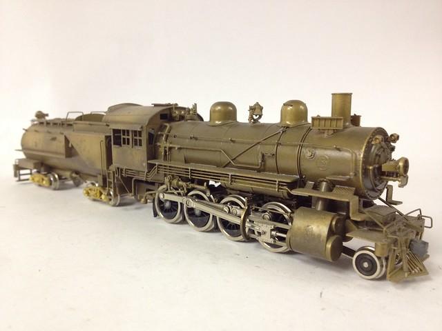 2 8 0 Consolidation Type Locomotives: Various HO Brass Steam Locomotives