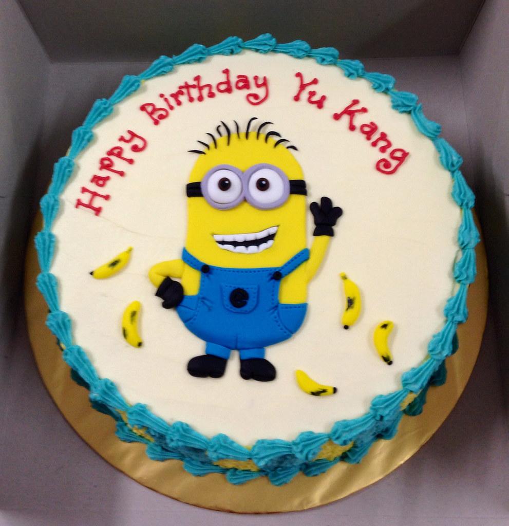 Inch Round Boys Birthday Cake