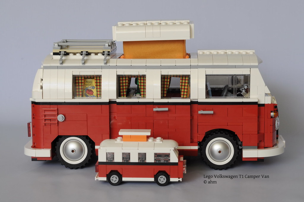 how to make a lego camper van