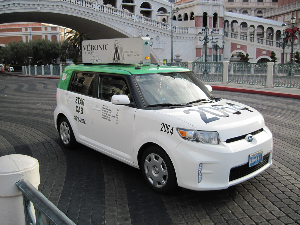 Las Vegas Taxi A Propane Powered 2013 Scion Xb Taxi In