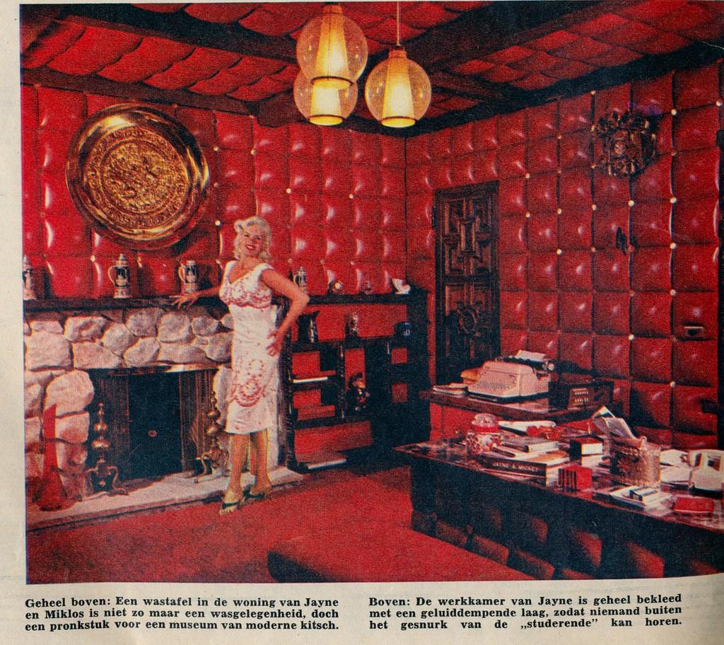Revue 1961 Ill Jayne Mansfield Int Pink Palace A En