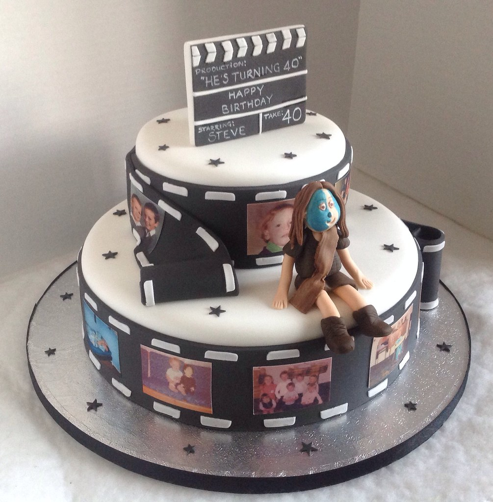 Photography Themed Birthday Cakes