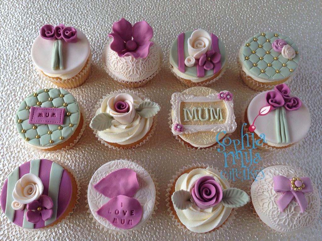 Vintage Cupcakes Lemon Cupcakes With Lemon Buttercream