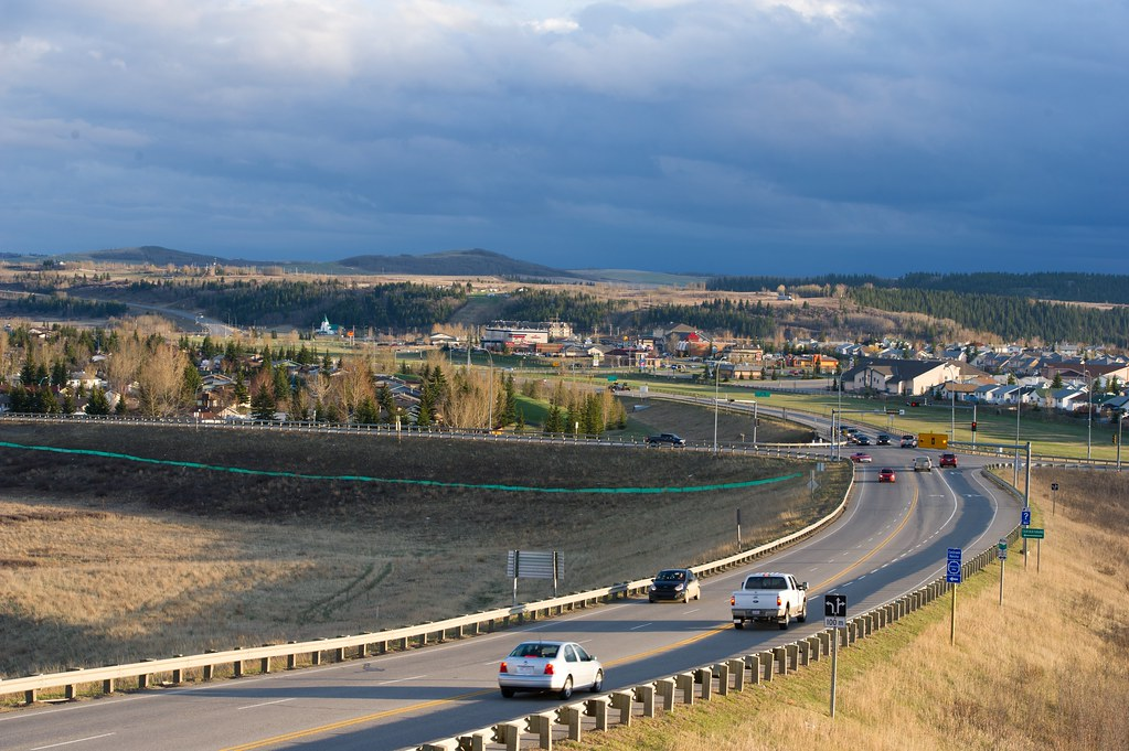Get Free Credit Report >> Highway to Cochrane, Alberta   Photo Credit: Government of A…   Flickr