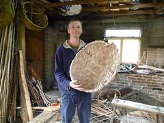 oak swill basket