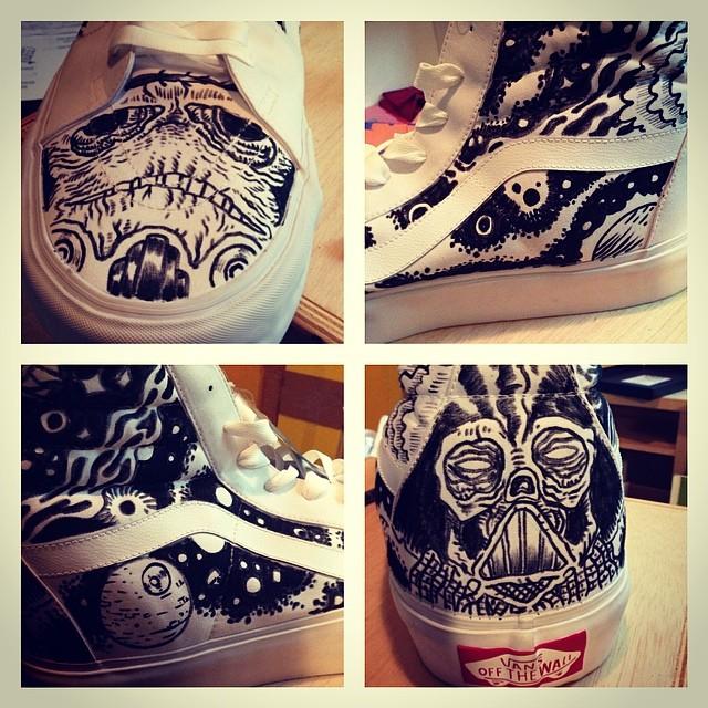 Star Wars Vans Shoes Uk