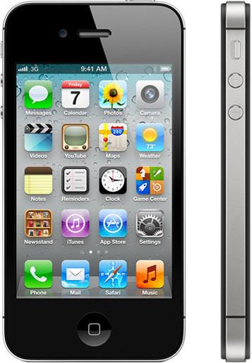 iPhone 4S 実物大の製品画像