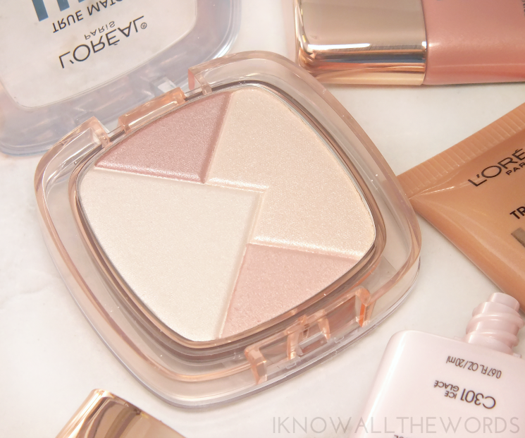 l'oreal true match lumi liquid powder glow illuminator review swatches (1)