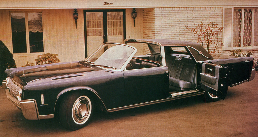 1964 Lincoln Continental Town Brougham Concept Car Flickr