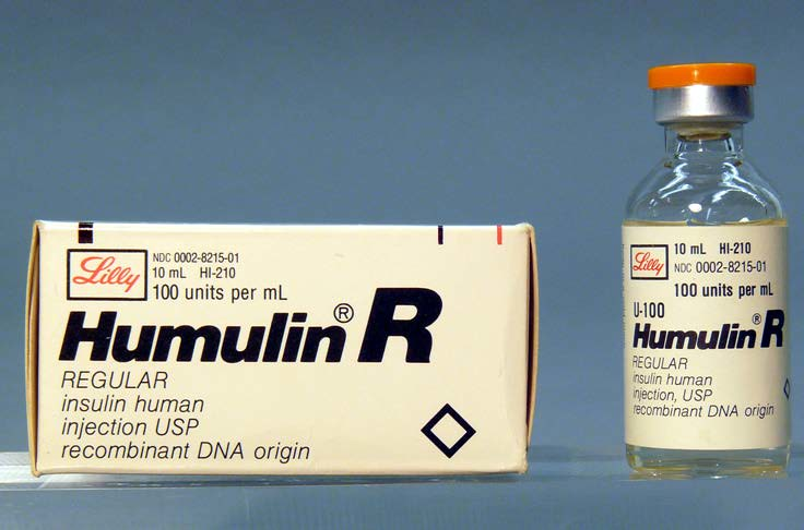 Humulin R Insulin 1987 Humulin Is Human Insulin Made