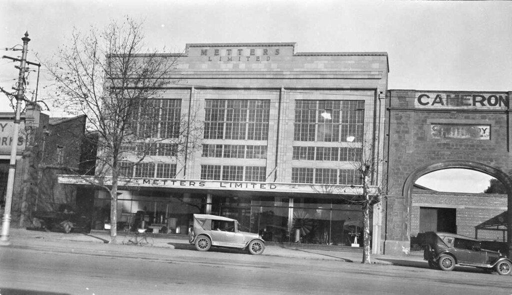 Premises of metters limited north terrace adelaide 1928 for 21 south terrace adelaide